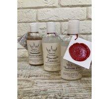 Лечебный шампунь премиум класса Чайная Роза для всех типов волос 100 мл Царская Мыловарня