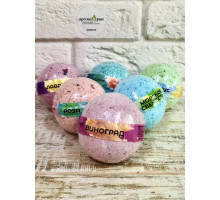 Бурлящий шарик для ванны SPA Meshile Crimea 160г Флора