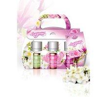 Набор парфюмерных композиций Ароматный букет (жасмин, чайная роза, магнолия) 3 шт по 5 мл