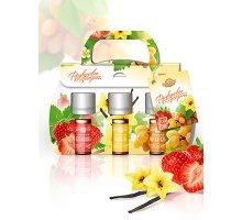 Набор парфюмерных композиций Фруктовое ассорти (клубника, ваниль, мускатель) 3 шт по 5 мл