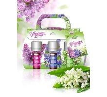 Набор парфюмерных композиций Цветочный бисер (сирень, фиалка, ландыш) 3 шт по 5 мл