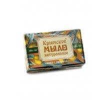 Крымское натуральное мыло на оливковом масле Алоэ с люффой 100 г