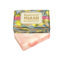 Крымское натуральное мыло на оливковом масле Роза 100 г