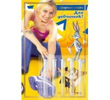 Композиции эфирных масел на открытке Для девчонок 5 шт - 0,5 мл