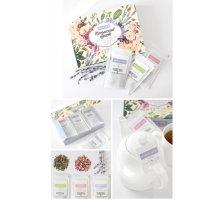 Набор Чайный букет цветочно-травяные сборы с розой, лавандой и мелиссой 15 фильтр-пакетов Крым-Чай