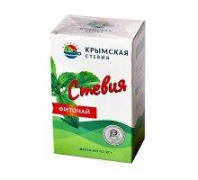 Воздушно-сухой лист стевии в коробке 25 г