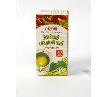 Зеленый чай со стевией и барбарисом 20 фильтр-пакетов