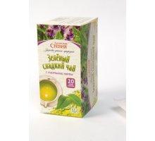 Зеленый чай со стевией и мятой 20 фильтр-пакетов