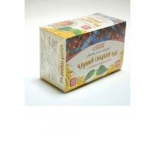 Черный чай со стевией и боярышником 20 фильтр-пакетов
