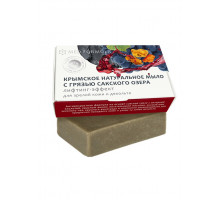 Крымское натуральное мыло с грязью Сакского озера Лифтинг-эффект для зрелой кожи MED-Formula 100 г