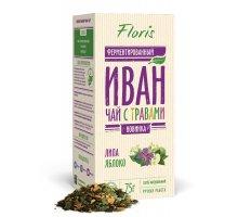 Иван-Чай ферментированный с крымскими травами: Липа, Яблоко 75 г
