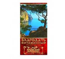 Бальзам безалкогольный Благодать - витаминный 0,25 л Крымский Травник