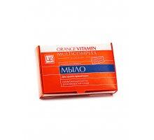 Мыло натуральное для сухой и зрелой кожи Orange Vitamin Multicomplex 85 г Царство Ароматов