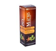 Масло для волос Питание и укрепление c комплексом витаминов А и Е и экстрактом крапивы 100 мл КНК