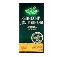Бальзам безалкогольный Эликсир Долголетия 0,25 л Крымский Травник