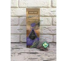 Травяной чай LAVENDER в пирамидках 15 по 2,5 г (37,5 г) КРЫМ-ЧАЙ