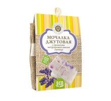 Мочалка джутовая с натуральным мылом Лаванда 100 г